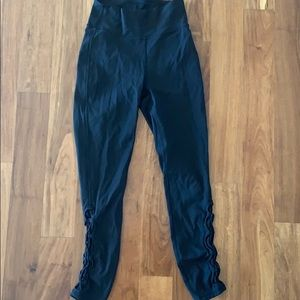 "Lululemon black 25"" leggings"